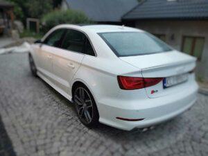 Audi s3 tył czyszczenieaut