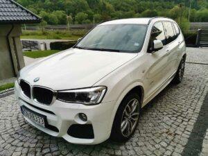 BMW X3 front czyszczenieaut