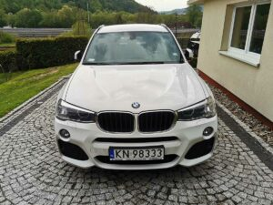 BMW X3 maska czyszczenieaut