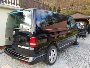 VW multivan tył czyszczenieaut