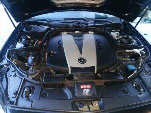 czyszczenieaut mercedes cls silnik